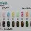 กระดาษแก้วออโรรา Glass Aurora Paper 2 เลือกสีด้านใน thumbnail 9