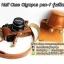 เคสกล้องหนัง Olympus pen-f รุ่น เปิดแบตได้ Case Olympus pen f ใช้ได้ทั้ง Full และ Half Case thumbnail 5