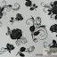 YM-K088 สติ๊กเกอร์สักแฟชั่น sticker tattoo ลายกุหลาบ โบ15.5x10.8 cm thumbnail 1