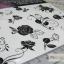 YM-K088 สติ๊กเกอร์สักแฟชั่น sticker tattoo ลายกุหลาบ โบ15.5x10.8 cm thumbnail 10