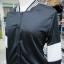 เสื้อคลุม แขนยาว ผ้าฝ้าย แต่งแถบ สีดำ (มีถาพจริง) thumbnail 4