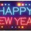 ป้ายไฟ LED HAPPY NEW YEAR คุณภาพเกรดA thumbnail 1