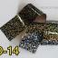 ฟอยล์ติดเล็บ ลายสีเงินดำ รหัส SD Nails foils เลือกสีด้านใน ขนาด 4X40 เซน thumbnail 14