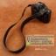 สายคล้องกล้อง cam-in หนังแท้ Splendid Genuine Leather สีดำ thumbnail 4