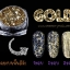 Gold Milky Way glitter powder ผงเกร็ดทางช้างเผือก สีทอง thumbnail 2