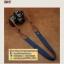 สายคล้องกล้องแฟชั่นสวยๆ รุ่นกันลื่น 38 mm สีพื้นน้ำเงินปลายน้ำตาล thumbnail 6