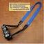 สายกล้องคล้องคอ - รุ่นกันลื่น ขนาด 25 mm สีน้ำเงินสว่าง ปลายดำ thumbnail 8