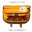 กระเป๋ากล้องหนังแท้ ผ้าแคนวาส มีหูหิ้ว Compact Window Bag Size M thumbnail 18