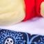 ผ้ารองเสริม Memory Foam สำหรับเปลี่ยนผ้าอ้อมแบบพกพา Ah Goo Baby - Blueberry thumbnail 11