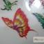 YM-X139 สติ๊กเกอร์ลายสัก tattoo ลายผีเสื้อ18 x 7 cm thumbnail 6
