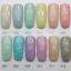 สีทาเล็บเจล EN.OU ยกเซ็ต 12ขวด สีโทนหวานผสมกากเพชรขาวเงิน JAPANEESE SNOW thumbnail 1