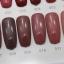 สีทาเล็บเจล EN.OU ยกเซ็ต 12ขวด สีโทนแดงอมชมพูน้ำตาล MARTHA RED thumbnail 4