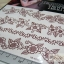 YM-K099 สติ๊กเกอร์สักแฟชั่น sticker tattoo ลายดอก 15.5x10.8 cm thumbnail 5