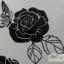 YM-K088 สติ๊กเกอร์สักแฟชั่น sticker tattoo ลายกุหลาบ โบ15.5x10.8 cm thumbnail 6