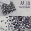เพชรชวาAA สีม่วง Tanzanite รหัส AA-18 คละขนาด ss3 ถึง ss30 ปริมาณประมาณ 1300-1500เม็ด thumbnail 1