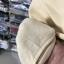 (ภาพจริง)เสื้อแฟชั่น แขนยาว ผ้าฝ้าย บุกันหนาว ลายตัวอักษร สีกากี thumbnail 5