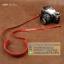 สายคล้องกล้องหนังแท้สวยๆ Cam-in สำหรับ Mirrorless Leica สีแดง thumbnail 6
