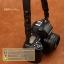 สายคล้องกล้อง cam-in หนังแท้ Splendid Genuine Leather สีดำ thumbnail 2