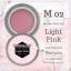 เจลต่อเล็บ Memory nail รหัส M02 ขนาด 10ml สีชมพูอ่อน Light Pink thumbnail 1