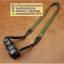 สายกล้องคล้องคอ - รุ่นกันลื่น ขนาด 25 mm สีแดง ปลายดำ thumbnail 15