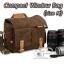 กระเป๋ากล้องหนังแท้ ผ้าแคนวาส มีหูหิ้ว Compact Window Bag Size M thumbnail 1