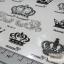 YM-K010 สติ๊กเกอร์สักแฟชั่น sticker tattoo ลายมงกุฎ 15.5x10.8 cm thumbnail 10