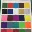 ตัวอย่างสีผ้าร่มเคลือบ UV ( สำหรับร่มสั่งทำ )