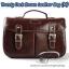 กระเป๋ากล้องวินเทจ Trendy Dark Brown Leather Bag (M) thumbnail 1