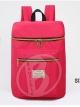 [แดงแตงโม] กระเป๋าเป้สะพายหลัง รหัส Z984-2