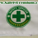 ปลอกแขนปัก Safety Officer Professional ( จป.วิชาชีพ )