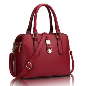 ***พร้อมส่ง*** กระเป๋าแฟชั่นสตรี รหัส CS-648 (C3-013) สไตล์เกาหลี นำเข้าจากต่างประเทศ สำหรับ สุภาพสตรีทันสมัย ราคาไม่แพง พร้อมส่ง สีแดง