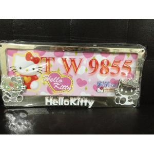 กรอบป้ายทะเบียนรถยนต์ Hello Kitty