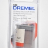 2615000420 DREMEL 420 แผ่นตัด 23.8mm. (T 1mm) 20/pack