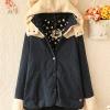 Pre-เสื้อกันหนาวโค้ทหูหมี สีแดง เหลือง กรมท่า Size M,L,XL