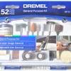 26150687AA  DREMEL 687 ชุดอุปกรณ์เสริม 52 ชิ้น