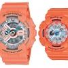 นาฬิกา คาสิโอ Casio G-Shock SETคู่รัก รุ่น GA-110DN-4A x BA-110SN-4A Pair set ของแท้ รับประกัน 1 ปี