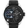 นาฬิกาข้อมือ ดีเซล Diesel Black Dial Black Silicone Bracelet Men's Watch รุ่น DZ7278