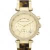 นาฬิกา Michael Kors ไมเคิล คอร์ รุ่น MK5688 Women Chronograph Parker Tortoise and Gold Tone