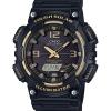 นาฬิกา คาสิโอ Casio SOLAR POWERED GOLD Color Acccent series รุ่น AQ-S810W-1A3V ของแท้ รับประกัน 1 ปี