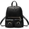 ***พร้อมส่ง*** กระเป๋าแฟชั่นสตรี รหัส BV-8801L (B6-023) สีดำ สไตล์เกาหลี สำหรับ สุภาพสตรีทันสมัย ราคาไม่แพง