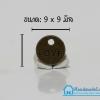 จี้โลหะ วินเทจ สีทองรมดำ รูปเหรียญ Love