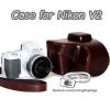 เคสกล้องหนัง Case Nikon V2