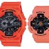 นาฬิกา คาสิโอ Casio G-Shock SETคู่รัก รุ่น GA-110MR-4A x BA-111-4A2 Pair set ของแท้ รับประกัน 1 ปี