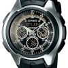นาฬิกา คาสิโอ Casio STANDARD ANALOG-DIGITAL รุ่น AQ-163W-1B1