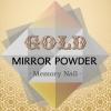 ผงกระจก Mirror Powder สีทอง