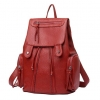 ***พร้อมส่ง*** กระเป๋าแฟชั่นสตรี แบบสะพายหลัง รหัส BB-160 (B2-144) สีแดง สไตล์เกาหลี สำหรับ สุภาพสตรีทันสมัย ราคาไม่แพง