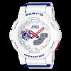นาฬิกา Casio Baby-G White Tricolor series รุ่น BGA-185TR-7A ของแท้ รับประกัน1ปี (CMG)