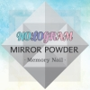 ผงกระจก Mirror Powder HOLOGRAM ผงสีเงินรุ้ง