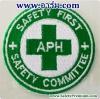 ตัวอย่างอาร์ม SAFETY COMMITTEE