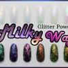 Milky Way glitter powder ผงเกร็ดทางช้างเผือก ชุดรวม 6 โทนสี